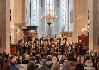 Performing in Pieterskerk, Utrecht